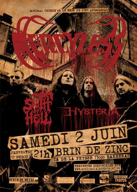 MERCYLESS [Chambéry - 73] > 02-06-2018